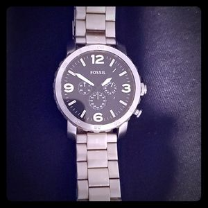 Fossil big face watch